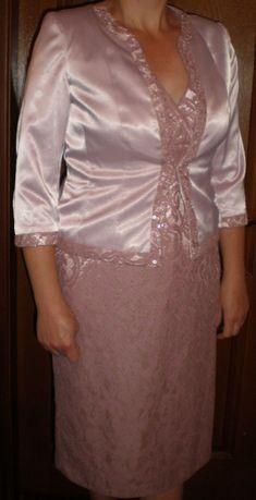 Женский нарядный комплект-платье и жакет.