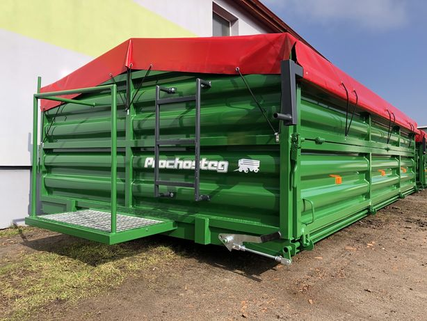 Zabudowa do przyczepy rolniczej, burty, remont HW 6011( hl 8011, d45)