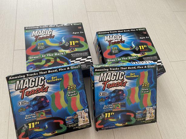 Гоночный Мэджик Трек Magic Tracks на 220 деталей.