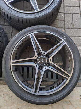 4 Jantes 18' ORIGINAIS Mercedes C43 AMG 4Matic + Pneus Dunlop SportMax