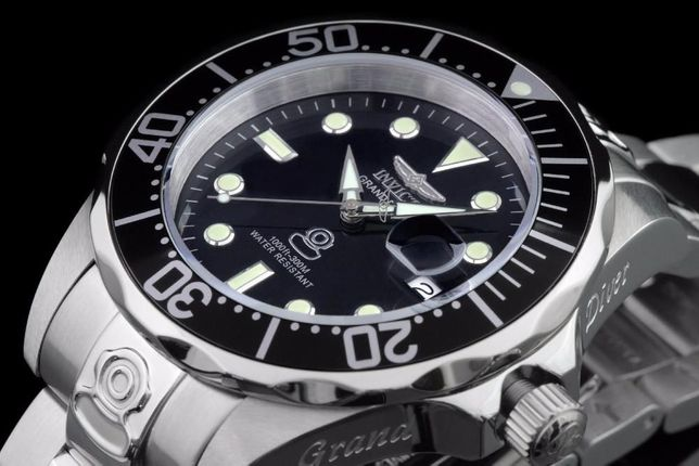 ОРИГИНАЛ   НОВЫЕ: Invicta Grand Diver 3044 aka ROLEX (300m). ГАРАНТИЯ!