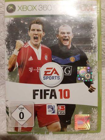 Gra Fifa 10 na xbox360