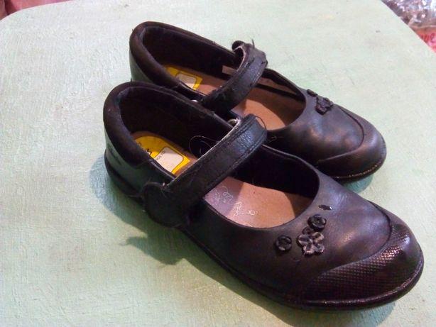 Туфлі шкіряні дівчинки