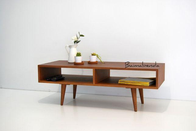 Mesa de Centro / Apoio / Movel Tv Retro Vintage Estilo Nordico