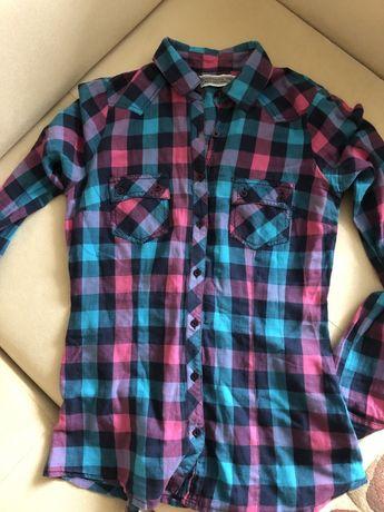 Рубашка Berschka xs s, самая низкая цена