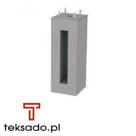 Fundament betonowy pod słup oświetleniowy