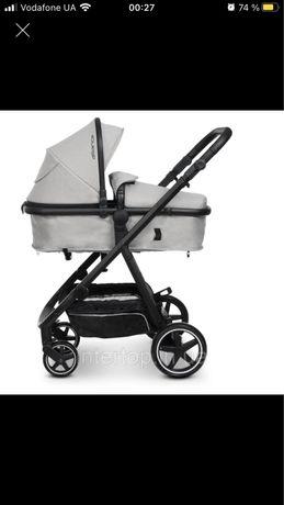 Детская универсальная коляска трансформер с перекидной ручкой 2 в 1 EL
