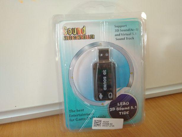 Внешняя звуковая карта GoodEm USB 2 (аудио карта для пк) windows