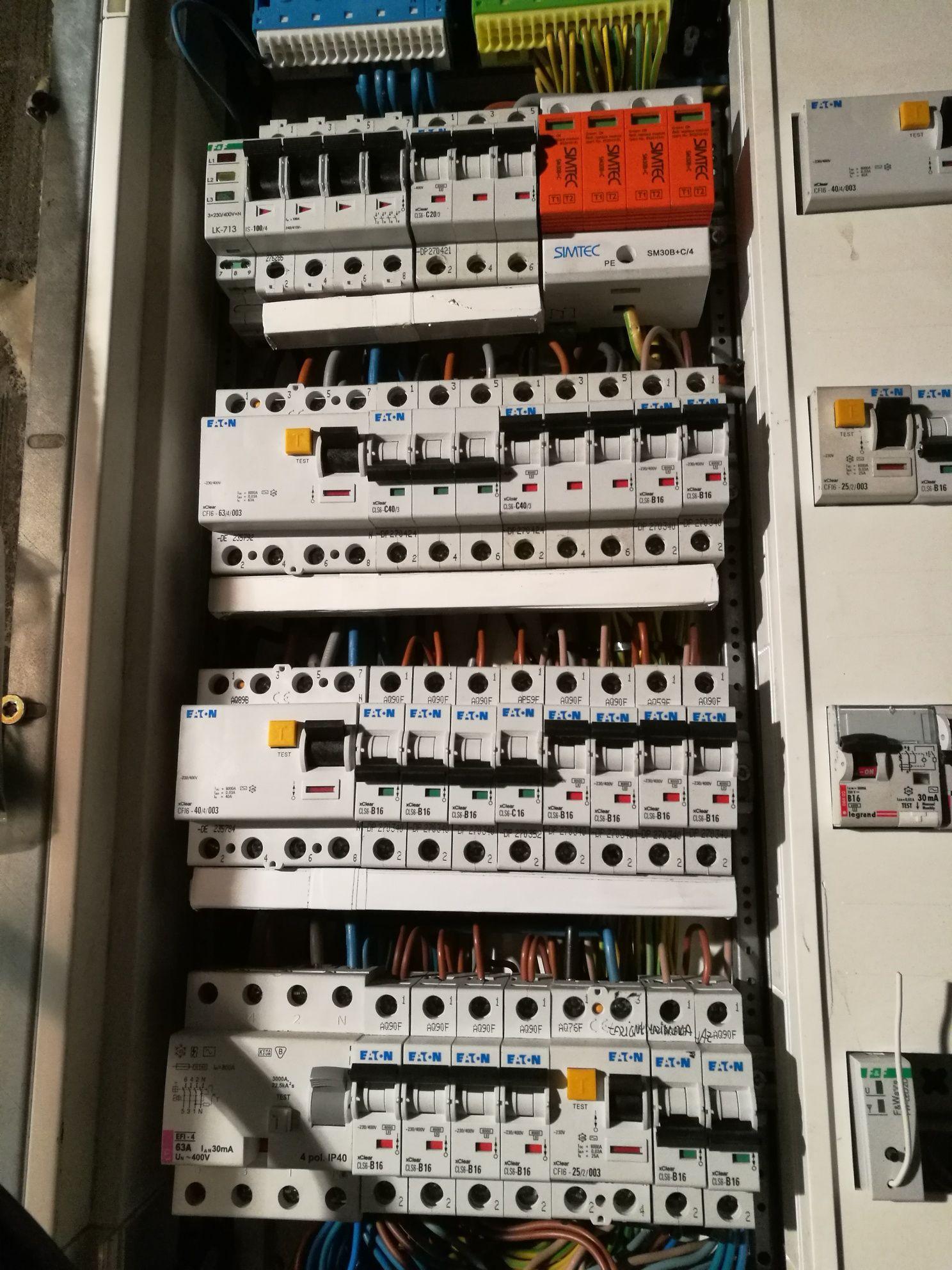 Instalacje elektryczne Elektryk Klimatyzacja Monitoring rekuperacja