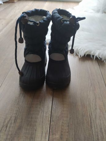 Buty kozaki Śniegowce Jak nowe 26