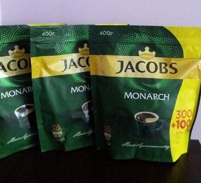 Кофе Якобс растворимый 400г Высшее качество Касик Бразилия