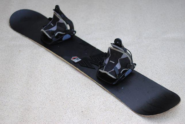 Deska snowboardowa snowboard Flow 150 cm wiązania Flow
