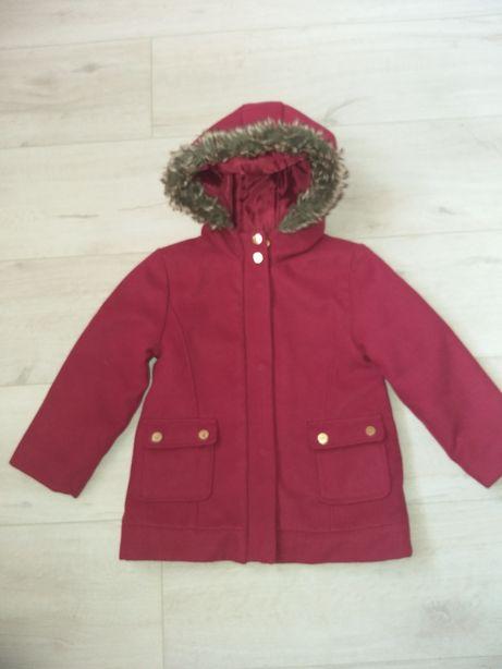 Пальто пальтишко кашемировое кашемир kiabi 4 110см