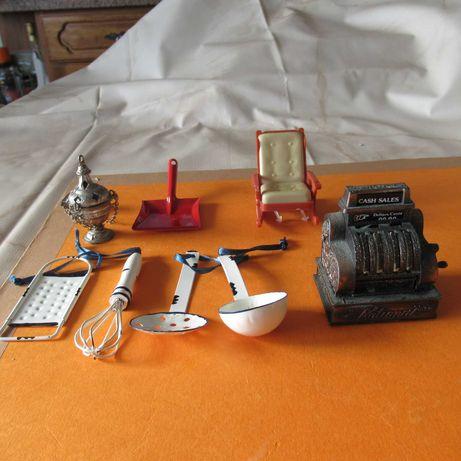 lote de peças para casas em miniatura
