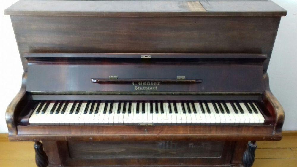 Zabytkowe pianino