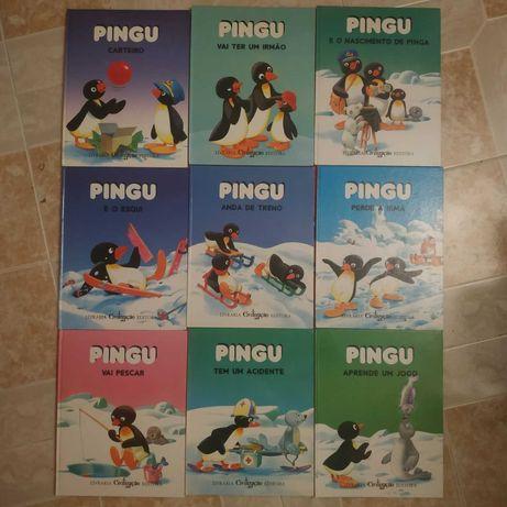 Colecção Completa de Livros do Pingu a 4€ cada