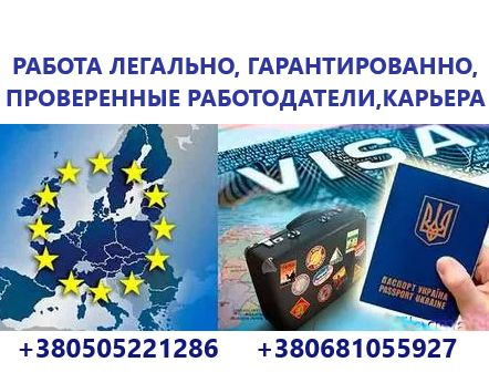 Виза в Польшу Работа Страховка Приглашение подача Новой почтой