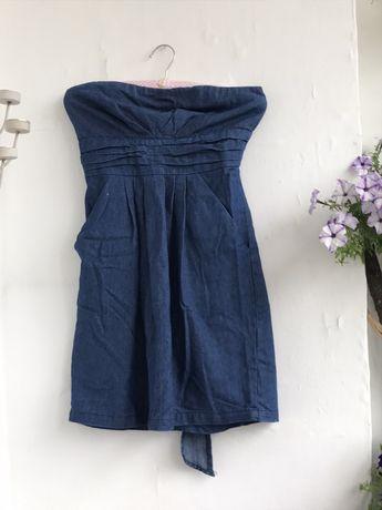 Sukienka jeansowa letnia