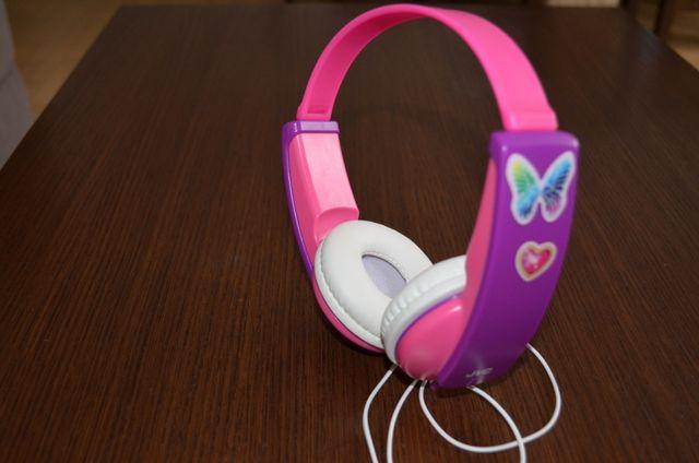 Słuchawki nauszne JVC HA-KD7-P-E dla dzieci Różowo-fioletowy