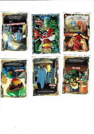 Karty LEGO NINJAGO 5 - Następny poziom - Zamienie lub sprzedam