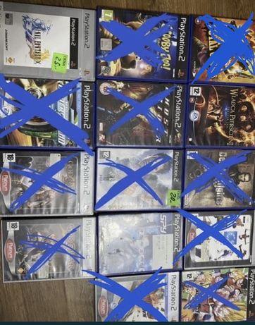 Gry PlayStation2 (cena za jedną grę 10zł)