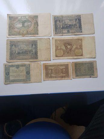 Stare banknoty kolekcja