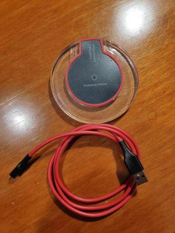 Ładowarka bezprzewodowa wireless fantasy usb, zasilacz, smartfon