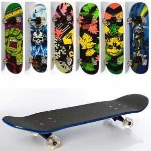 Скейт 79*20 см вверх наждачка