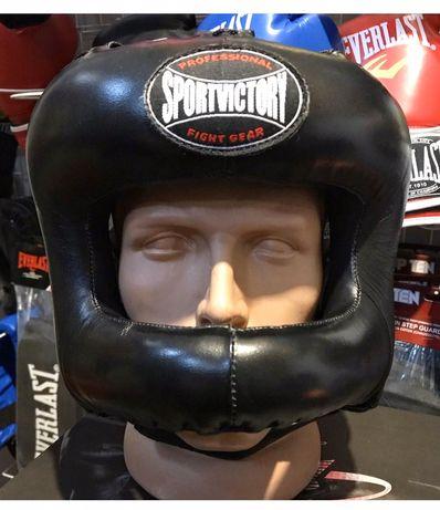 Шлем для бокса с бампером Sportvictory Rival боксерский шлем с дугой