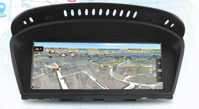 Radio nawigacja ANDROID 10 BMW 5 E60 2003=2010 CCC Blutooth WiFi GPS