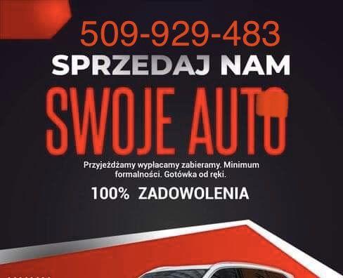 SKUP AUT TLOKINIA I OKOLICE ! OD 500 Do 50.000 zl auto skup samochodow