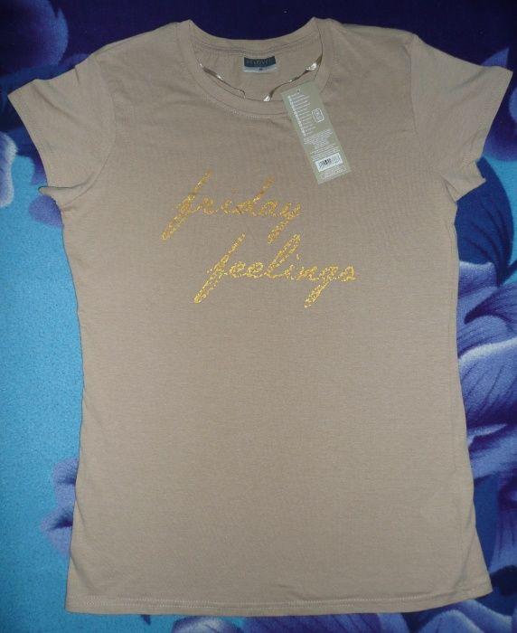 T-shirt nowa koszulka damska rozmiar M (38), Beloved: friday feelings Łańcut - image 1