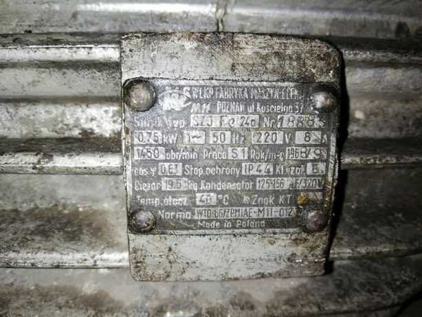 Silnik SZJ Fe 24a