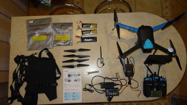 Dron 3dr Iris Gimbal pod go pro Pixhawk