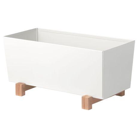 BITTERGURKA Vaso, branco32x15 cm