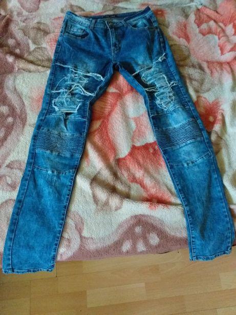 Spodnie jeansowe męskie