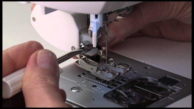 Ремонт и настройка швейных машин и оверлоков.