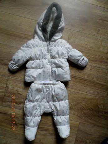 Super kombinezon 2 czesciowy kurtka spodnie 62 cm
