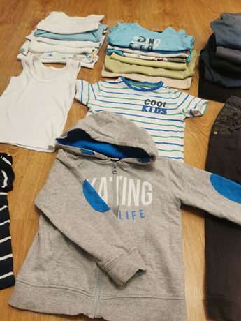 Ubrania chłopięce rozmiar 98, 104,110