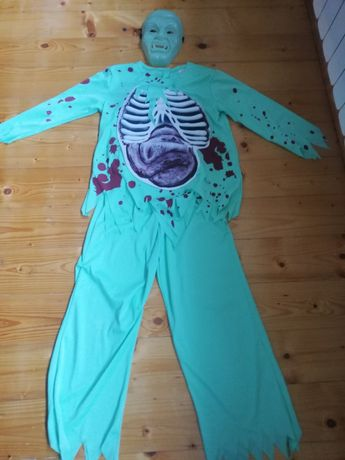 Przebranie Halloween zombiak rozmiar 134