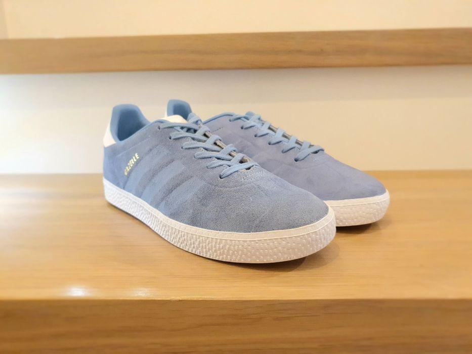 Buty Sneakersy Adidas Gazelle, kolor niebieski Warszawa - image 1