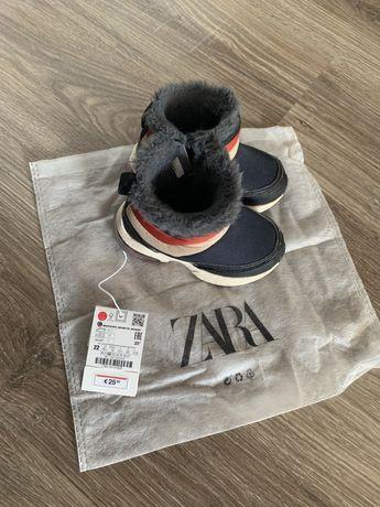 Детские ботинки сапоги боты zara next h&m reserved  22 размер