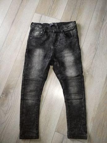 Jeansy spodnie. Ciepłe! roz. 122