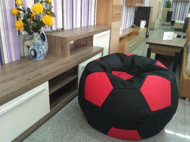 Кресло мешок кресло мяч пуфик футбольный мяч бескаркасная мебель