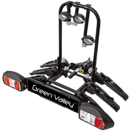 Nowy bagażnik na hak Aurilis 3+1 rowery,uchylny składany simple ride