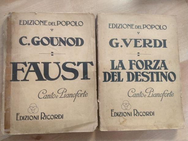 Faust Carlo Gounod,La forza del destino Giuseppe Verdi nuty