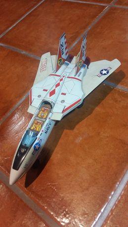 Avião miniatura F14 anos 70