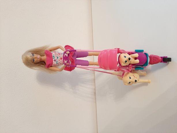 Lalki Barbie : lalka z pieskami