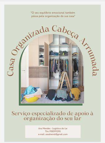 SOS Casinha = Casa Organizada Cabeça Arrumada