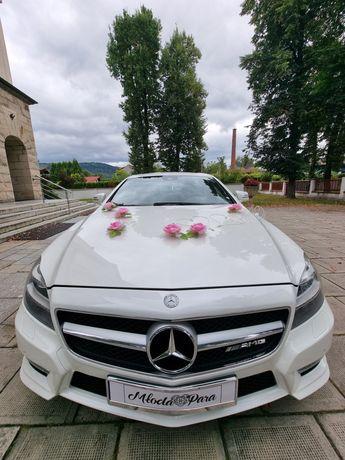 Mercedesem do Ślubu CLS 550 AMG V8 CALY ŚLĄSK